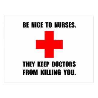 Sea Niza a las enfermeras Postal