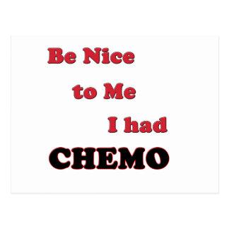 Sea Niza a mí.  Tenía Chemo Postal