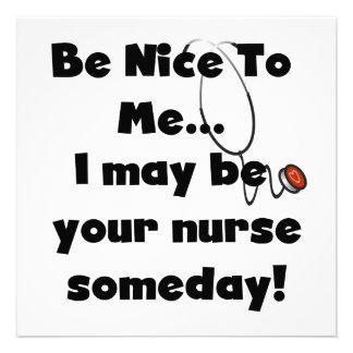 Sea Niza camisetas y regalos de la enfermera Comunicado Personalizado