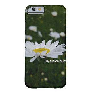 Sea Niza un iPhone humano 6/6s, Barely There Funda Barely There iPhone 6