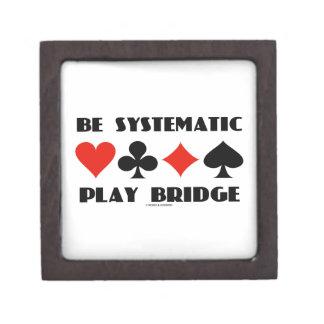 Sea puente sistemático del juego (cuatro juegos de caja de recuerdo de calidad