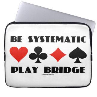 Sea puente sistemático del juego (cuatro juegos de funda portátil
