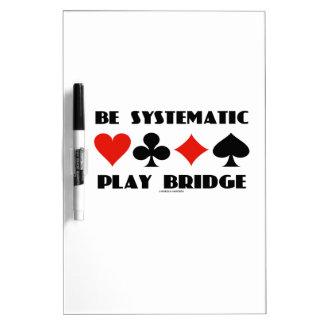 Sea puente sistemático del juego (cuatro juegos de pizarra