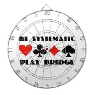 Sea puente sistemático del juego (cuatro juegos de tablero dardos