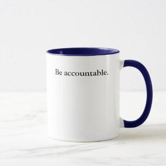 Sea responsable taza