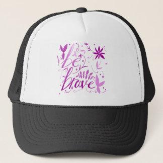 sea rosa valiente gorra de camionero
