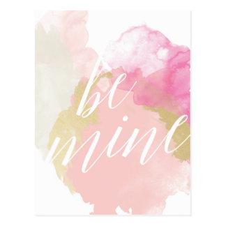 Sea tarjeta del el día de San Valentín de la Postal