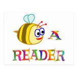 Sea un lector tarjeta postal