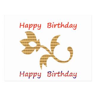 Sea un líder - sea diferente:  Feliz cumpleaños Postal