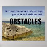 Sea un perro: No deje los obstáculos bloquean su m Impresiones