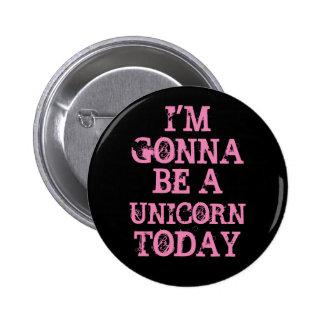 Sea un unicornio chapa redonda de 5 cm