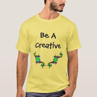 Sea una camisa creativa