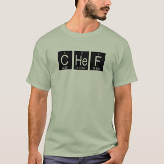 Sea una camiseta del día de padre del cocinero
