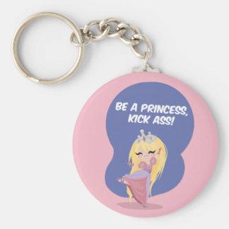 ¡Sea una princesa, asno del retroceso! - Llavero