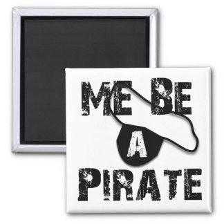 Sea una ropa y regalos del pirata iman