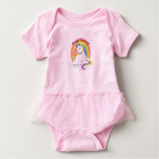 Sea usted mismo, sea un tutú del bebé del body para bebé