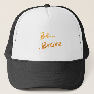 Sea valiente gorra de camionero
