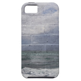 sea_wall_001 funda para iPhone SE/5/5s