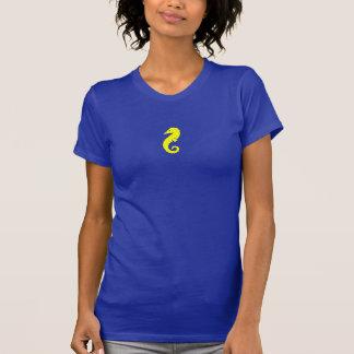 Seahorse de Glow_Yellow del océano Camiseta