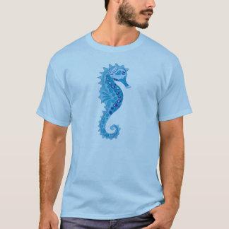 Seahorse de la aguamarina camiseta