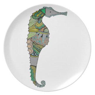 Seahorse Plato
