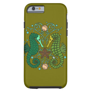 Seahorses Funda Resistente iPhone 6