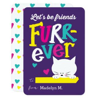 Seamos tarjeta del día de San Valentín de la sala Invitación 8,9 X 12,7 Cm