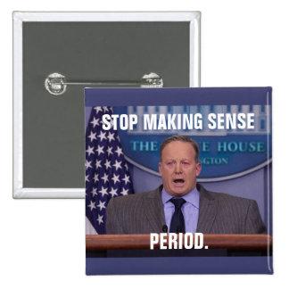 Sean Spicer, secretario de prensa de la Casa Chapa Cuadrada