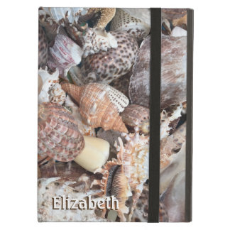 Seashell exótico personalizado