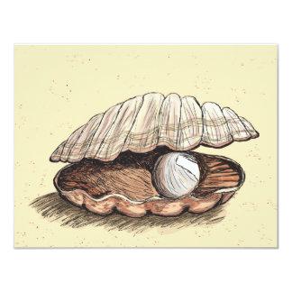 Seashell perfecto de la perla comunicados