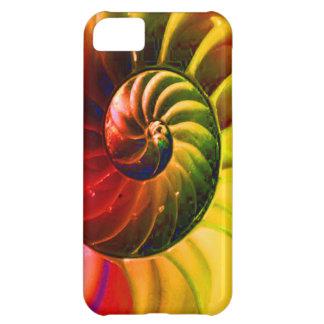 Seashell vivo Swirly en el color de Techno