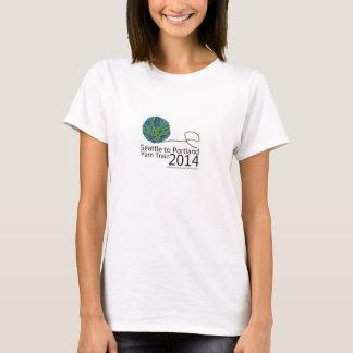 Seattle 2014 a la camiseta del tren del hilado de