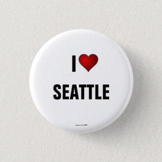 Seattle: Amo el botón del pinback de Seattle