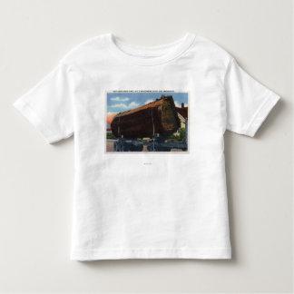 Seattle, registro de WashingtonGiant en el camino Camiseta