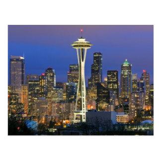 Seattle vista del parque de Kerry en la reina Anne Postal