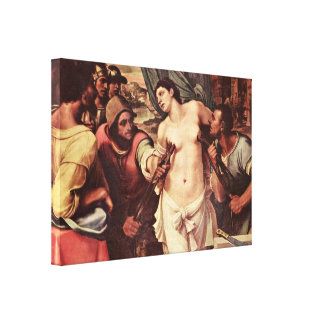 Sebastiano del Piombo - martirio de St Agatha Lienzo Envuelto Para Galerías