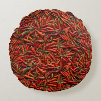 Secado de Red Hot Chili Peppers Cojín Redondo