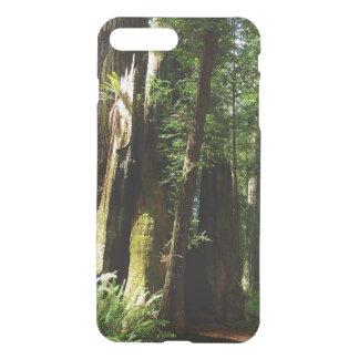 Secoyas y helechos en el parque nacional de la funda para iPhone 8 plus/7 plus