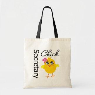 Secretaria Chick Bolsa Tela Barata