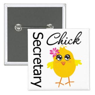 Secretaria Chick Chapa Cuadrada