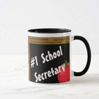 Secretaria de la escuela #1 taza