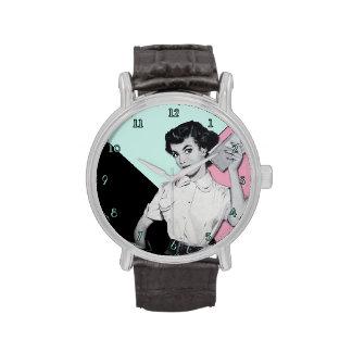 Secretaria descarada Watch Reloj