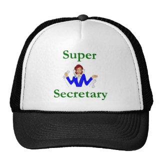 Secretaria estupenda Hat Gorras