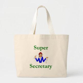 Secretaria estupenda la bolsa de asas