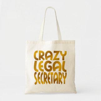 Secretaria legal loca en oro bolsa tela barata