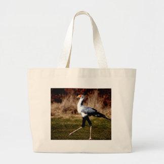 Secretaria pájaro bolsas