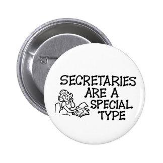Secretarias Are un tipo especial botón Pin