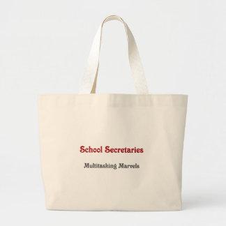 Secretarias Multitasking Marvels de la escuela Bolsa Tela Grande