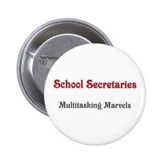 Secretarias Multitasking Marvels de la escuela Chapa Redonda De 5 Cm