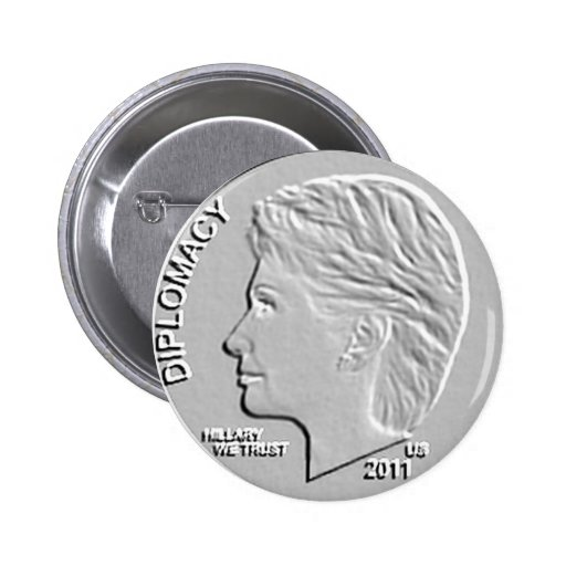 Secretario de Estado 2011 de Hillary Clinton (más  Pins
